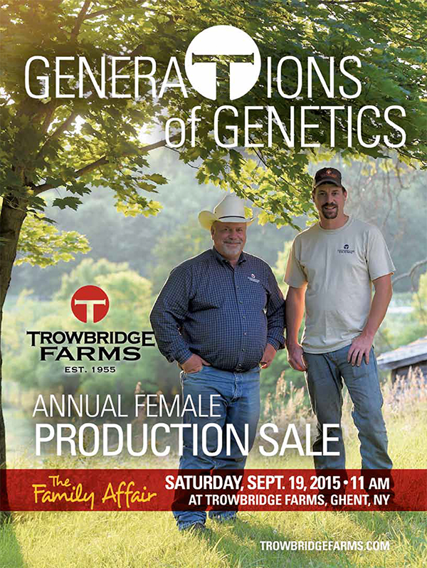 Trowbridge Farms Annual Female Production Sale