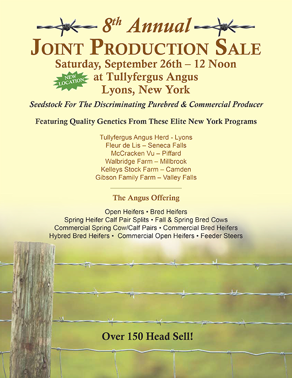 8th Annual Joint Production Sale