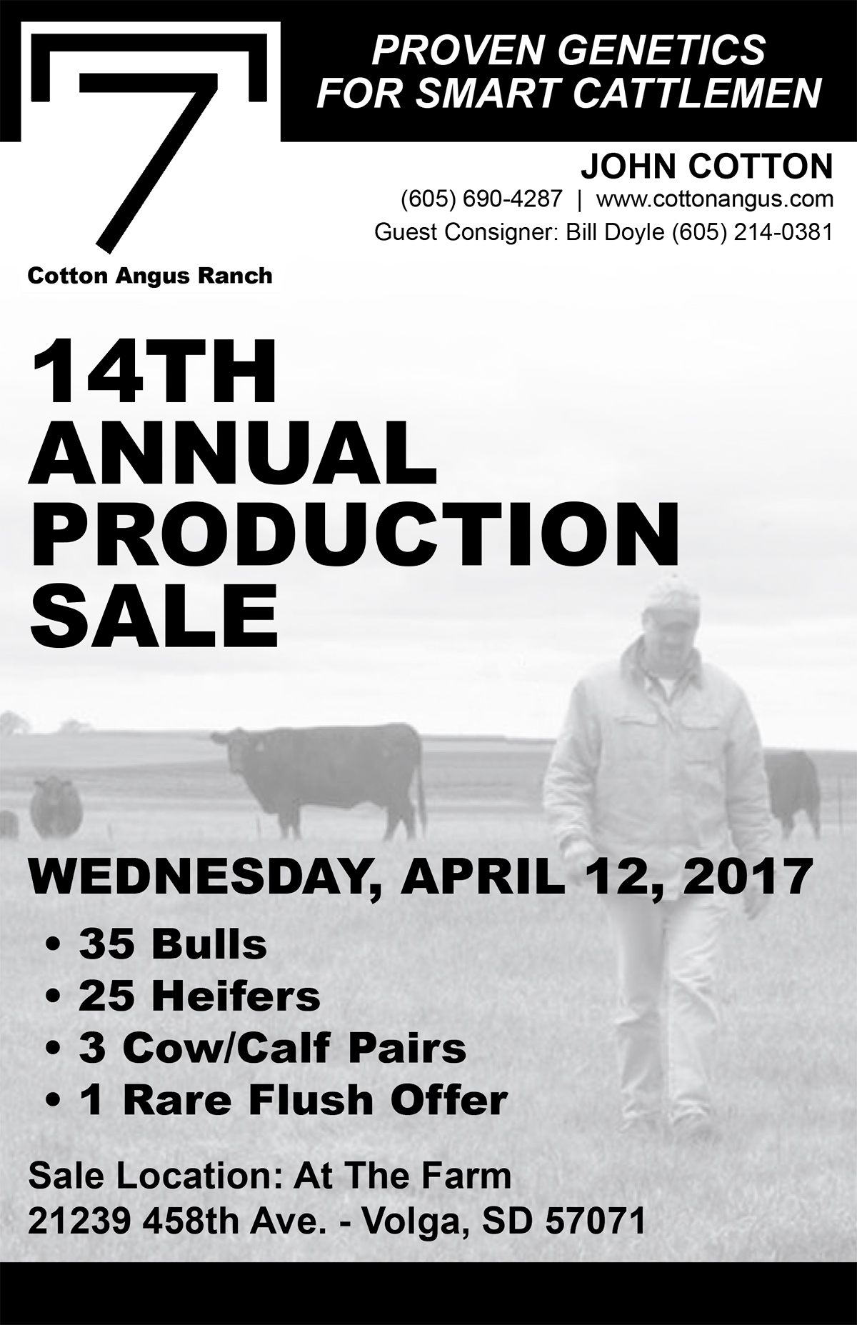 14th Annual Cotton Angus Production Sale